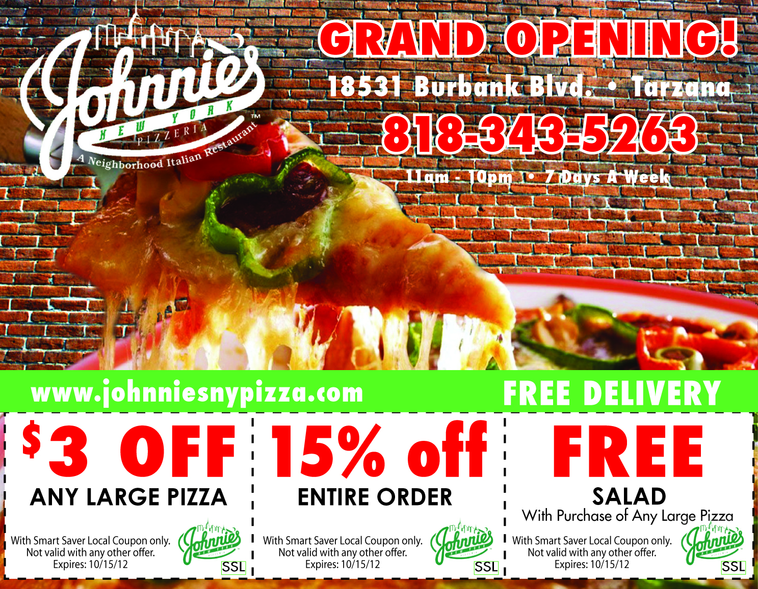 Johnnies NY Pizza